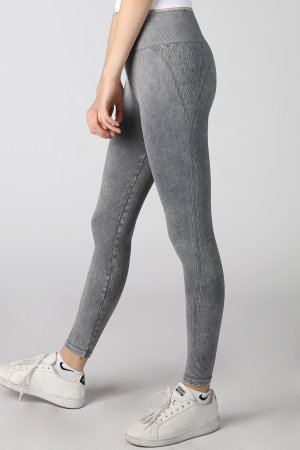 NB7028 Textured & Detailed Vintage Leggings