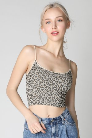f1fccfc0cb78a5 NS7664 Leopard Low Back Crop Top ...